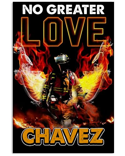 No Greater Love Chavez Poster