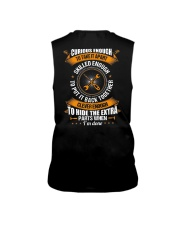 Electrician Curious Enough Sleeveless Tee thumbnail