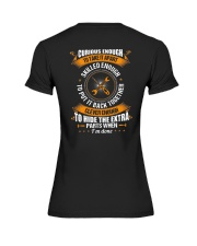 Electrician Curious Enough Premium Fit Ladies Tee thumbnail