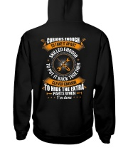 Electrician Curious Enough Hooded Sweatshirt thumbnail