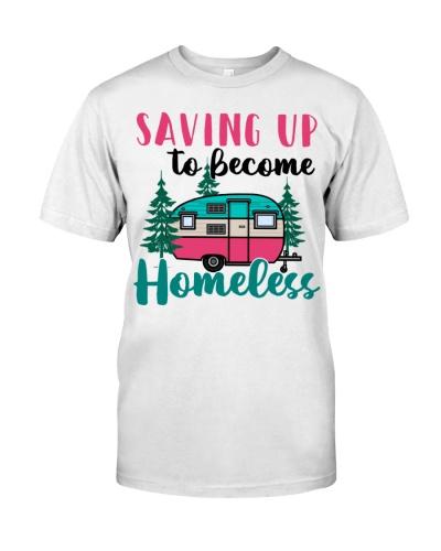 Saving Up To Become Homeless