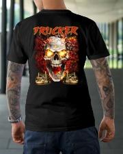 Trucker Cool Gift T-Shirt  Classic T-Shirt lifestyle-mens-crewneck-back-3