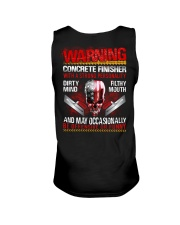 Warning Concrete Finishe with a strong personality Unisex Tank thumbnail