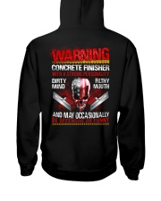 Warning Concrete Finishe with a strong personality Hooded Sweatshirt thumbnail