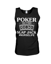 Poker Go Fish Slap Jack Nurselife Unisex Tank thumbnail