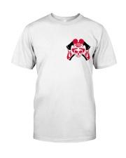 Firefighter Skull Classic T-Shirt front