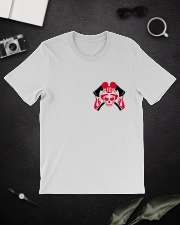 Firefighter Skull Classic T-Shirt lifestyle-mens-crewneck-front-16