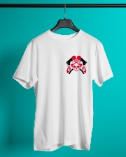 Firefighter Skull Classic T-Shirt lifestyle-mens-crewneck-front-3
