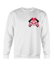Firefighter Skull Crewneck Sweatshirt thumbnail