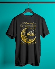 I Love My Operator To Ther Moon And Back  Classic T-Shirt lifestyle-mens-crewneck-front-3