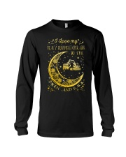 I Love My Operator To Ther Moon And Back  Long Sleeve Tee thumbnail