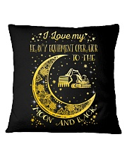 I Love My Operator To Ther Moon And Back  Square Pillowcase thumbnail