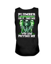 Plumber You Are Paying Me Unisex Tank thumbnail