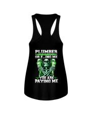 Plumber You Are Paying Me Ladies Flowy Tank thumbnail
