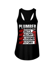 Plumber No Guts No Glory No Legend Ladies Flowy Tank thumbnail