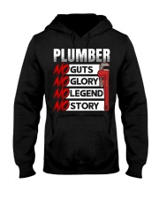 Plumber No Guts No Glory No Legend Hooded Sweatshirt thumbnail