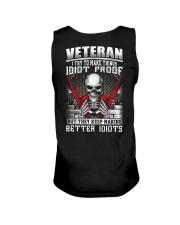 Veteran I Try To Make Things Idiot Proof Unisex Tank thumbnail