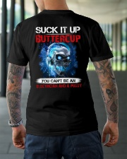 Suck It Up Buttercup You Can't Be A Electrician Classic T-Shirt lifestyle-mens-crewneck-back-3