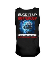 Suck It Up Buttercup You Can't Be A Electrician Unisex Tank thumbnail