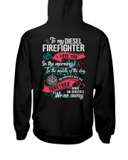 To My Diesel Firefighter I Love You Hooded Sweatshirt thumbnail