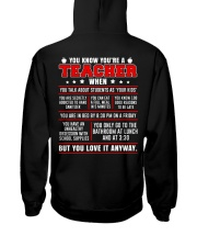 You know you're a teacher when Hooded Sweatshirt thumbnail