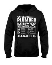 Category Plumber Safety Information Needs Coffee L Hooded Sweatshirt thumbnail