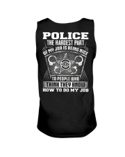 Police The The Hardest Part Of My Job  Unisex Tank thumbnail