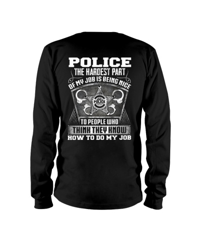 Police The The Hardest Part Of My Job