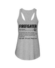 Firefighter Noun Ladies Flowy Tank thumbnail