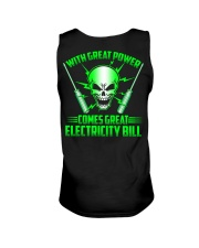 With Great Power Comes Great Electricity Bill Unisex Tank thumbnail
