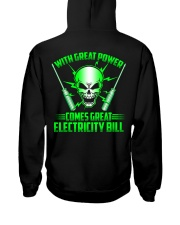 With Great Power Comes Great Electricity Bill Hooded Sweatshirt tile