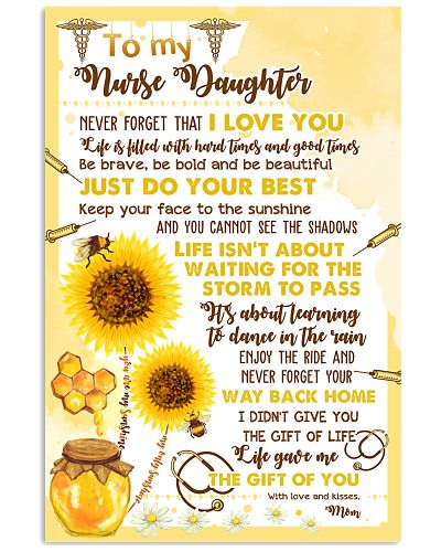 To My Nurse Daughter Poster