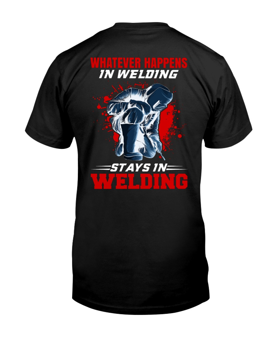 Welder Stay In Welding Classic T-Shirt