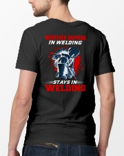 Welder Stay In Welding Classic T-Shirt lifestyle-mens-crewneck-back-5