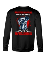 Welder Stay In Welding Crewneck Sweatshirt tile