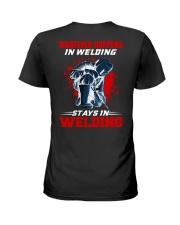 Welder Stay In Welding Ladies T-Shirt tile