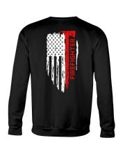 Men's Thin Red Line American Flag Shirt Crewneck Sweatshirt thumbnail