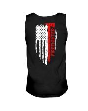 Men's Thin Red Line American Flag Shirt Unisex Tank thumbnail