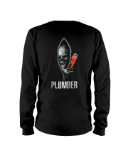 Plumber Skull Crack Long Sleeve Tee thumbnail