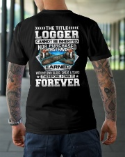 The Title Logger Canot Be Inherited Classic T-Shirt lifestyle-mens-crewneck-back-3