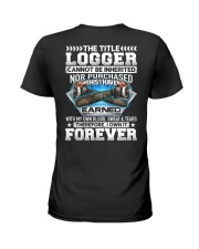 The Title Logger Canot Be Inherited Ladies T-Shirt thumbnail
