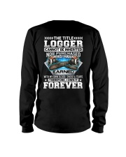 The Title Logger Canot Be Inherited Long Sleeve Tee thumbnail
