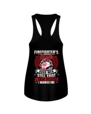 Firefighter's Wife  Good Men Still Exist Ladies Flowy Tank thumbnail