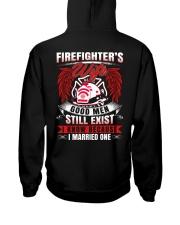 Firefighter's Wife  Good Men Still Exist Hooded Sweatshirt thumbnail