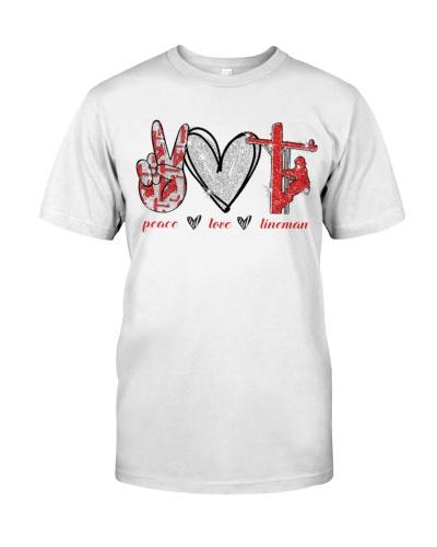Peace Love Lineman