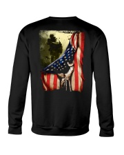 Veteran Flag Crewneck Sweatshirt thumbnail