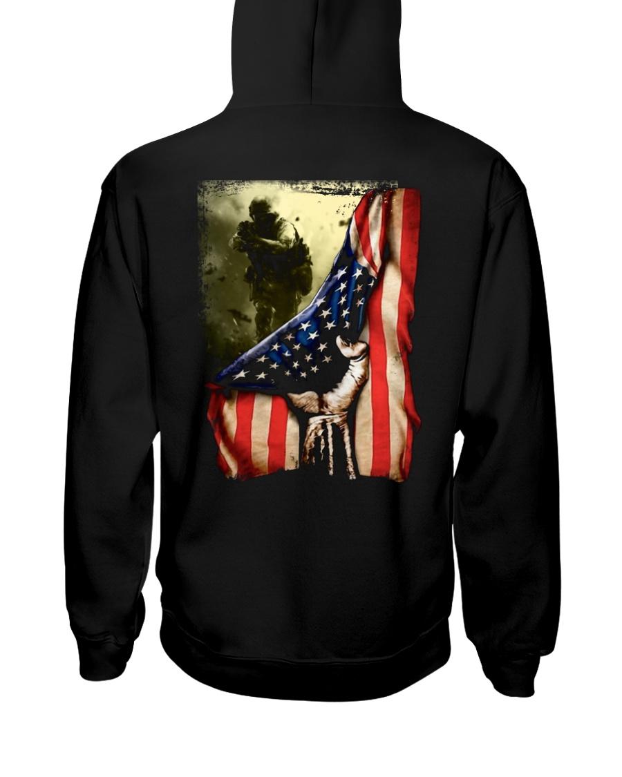 Veteran Flag Hooded Sweatshirt