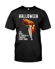 Halloween The Night A Concrete Premium Fit Mens Tee thumbnail