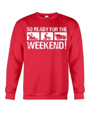 So Ready  For The Weekend Concrete Finisher Crewneck Sweatshirt tile