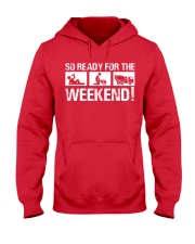 So Ready  For The Weekend Concrete Finisher Hooded Sweatshirt tile